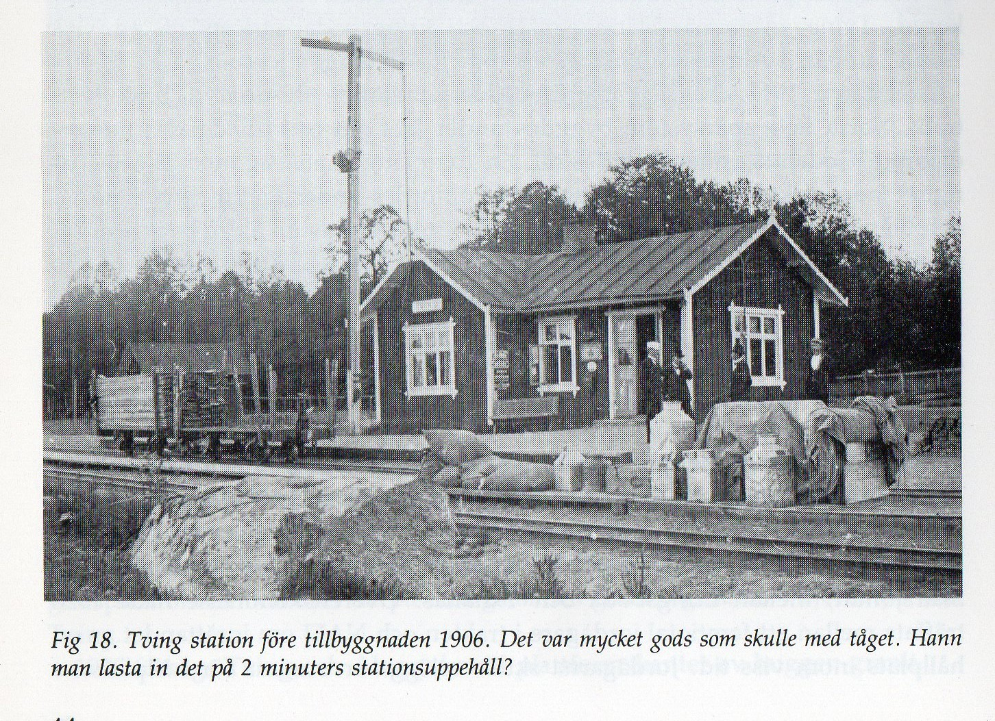 Tvings station 1906.